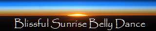 BLISSFUL SUNRISE BELLY DANCE Banner