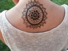 Mandala on Back